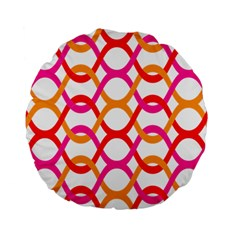 Background Abstract Standard 15  Premium Round Cushions