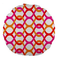 Background Abstract Large 18  Premium Round Cushions