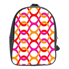 Background Abstract School Bags (XL)