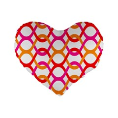 Background Abstract Standard 16  Premium Heart Shape Cushions
