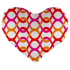 Background Abstract Large 19  Premium Heart Shape Cushions