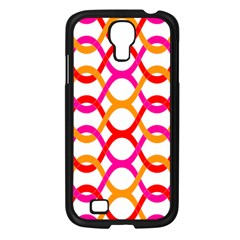 Background Abstract Samsung Galaxy S4 I9500/ I9505 Case (Black)