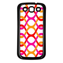 Background Abstract Samsung Galaxy S3 Back Case (Black)