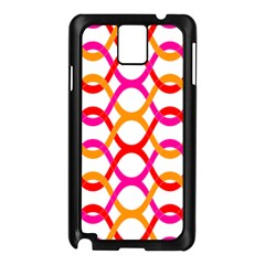 Background Abstract Samsung Galaxy Note 3 N9005 Case (Black)