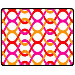 Background Abstract Double Sided Fleece Blanket (Medium)