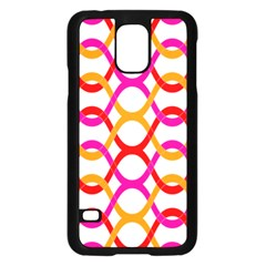 Background Abstract Samsung Galaxy S5 Case (Black)