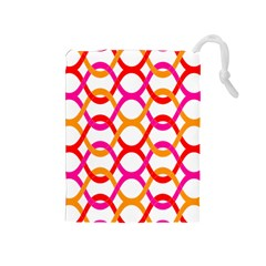 Background Abstract Drawstring Pouches (Medium)