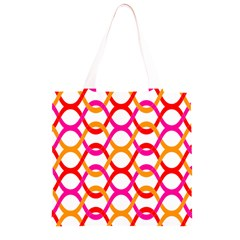 Background Abstract Grocery Light Tote Bag