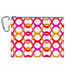 Background Abstract Canvas Cosmetic Bag (XL)