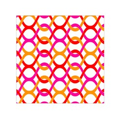 Background Abstract Small Satin Scarf (Square)