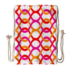 Background Abstract Drawstring Bag (Large)