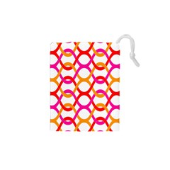 Background Abstract Drawstring Pouches (XS)
