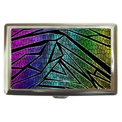 Abstract Background Rainbow Metal Cigarette Money Cases