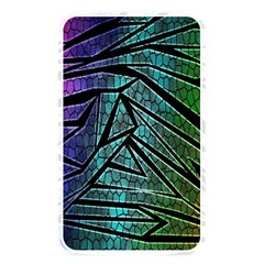 Abstract Background Rainbow Metal Memory Card Reader