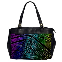 Abstract Background Rainbow Metal Office Handbags
