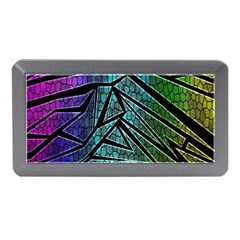 Abstract Background Rainbow Metal Memory Card Reader (Mini)