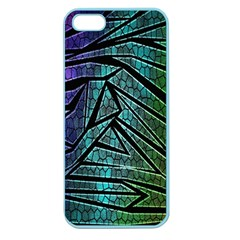 Abstract Background Rainbow Metal Apple Seamless iPhone 5 Case (Color)