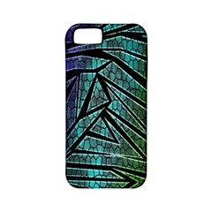 Abstract Background Rainbow Metal Apple iPhone 5 Classic Hardshell Case (PC+Silicone)