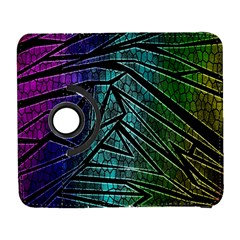 Abstract Background Rainbow Metal Galaxy S3 (Flip/Folio)