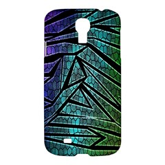 Abstract Background Rainbow Metal Samsung Galaxy S4 I9500/I9505 Hardshell Case