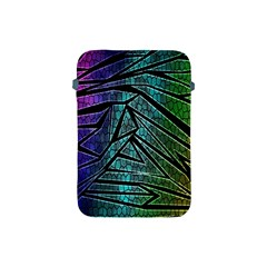 Abstract Background Rainbow Metal Apple iPad Mini Protective Soft Cases