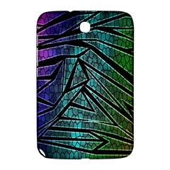 Abstract Background Rainbow Metal Samsung Galaxy Note 8.0 N5100 Hardshell Case
