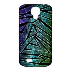 Abstract Background Rainbow Metal Samsung Galaxy S4 Classic Hardshell Case (PC+Silicone)