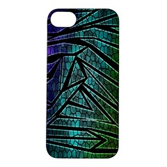 Abstract Background Rainbow Metal Apple iPhone 5S/ SE Hardshell Case