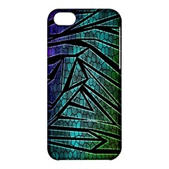 Abstract Background Rainbow Metal Apple iPhone 5C Hardshell Case