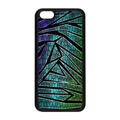 Abstract Background Rainbow Metal Apple iPhone 5C Seamless Case (Black)