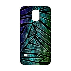 Abstract Background Rainbow Metal Samsung Galaxy S5 Hardshell Case