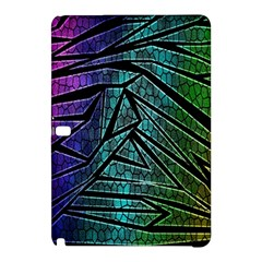 Abstract Background Rainbow Metal Samsung Galaxy Tab Pro 12.2 Hardshell Case