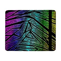Abstract Background Rainbow Metal Samsung Galaxy Tab Pro 8.4  Flip Case