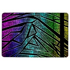 Abstract Background Rainbow Metal iPad Air 2 Flip