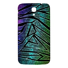 Abstract Background Rainbow Metal Samsung Galaxy Mega I9200 Hardshell Back Case
