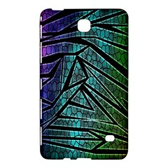 Abstract Background Rainbow Metal Samsung Galaxy Tab 4 (8 ) Hardshell Case