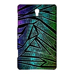 Abstract Background Rainbow Metal Samsung Galaxy Tab S (8.4 ) Hardshell Case