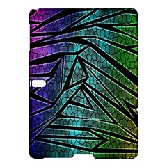 Abstract Background Rainbow Metal Samsung Galaxy Tab S (10.5 ) Hardshell Case