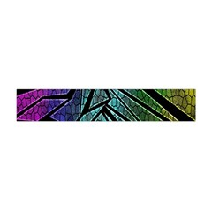 Abstract Background Rainbow Metal Flano Scarf (Mini)