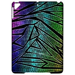 Abstract Background Rainbow Metal Apple iPad Pro 9.7   Hardshell Case