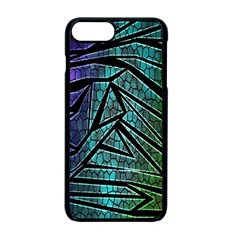 Abstract Background Rainbow Metal Apple iPhone 7 Plus Seamless Case (Black)
