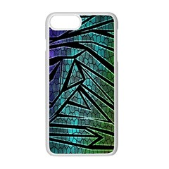 Abstract Background Rainbow Metal Apple iPhone 7 Plus White Seamless Case