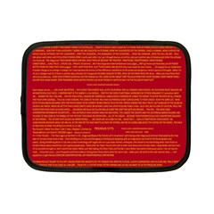 Writing Grace Netbook Case (Small)
