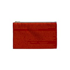 Writing Grace Cosmetic Bag (Small)