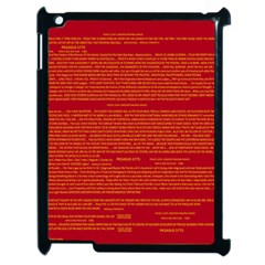 Writing Grace Apple iPad 2 Case (Black)