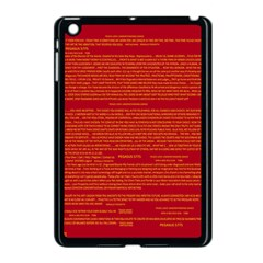 Writing Grace Apple iPad Mini Case (Black)