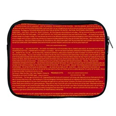 Writing Grace Apple iPad 2/3/4 Zipper Cases
