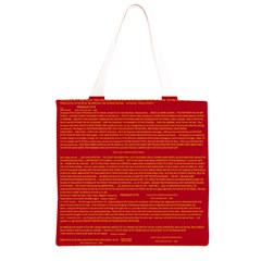 Writing Grace Grocery Light Tote Bag