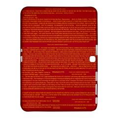 Writing Grace Samsung Galaxy Tab 4 (10.1 ) Hardshell Case