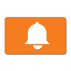 Bell Orange Copy Magnet (Rectangular)